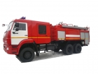 Автоцистерна пожарная АЦ 9,0 на базе КАМАЗ-65111