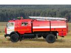 Автоцистерна пожарная АЦ 4,0 на базе КАМАЗ-43253