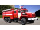 Автоцистерна пожарная АЦ 6,0 на базе УРАЛ-4320