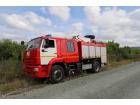 Автоцистерна пожарная АЦ 5,0 на базе КАМАЗ-53605