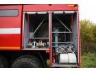 Пожарная насосная станция ПНС-100 на базе КАМАЗ-43118