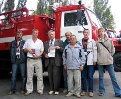 Мы приняли участи в выставке «Пожарная безопасность XXI века – 2007»!